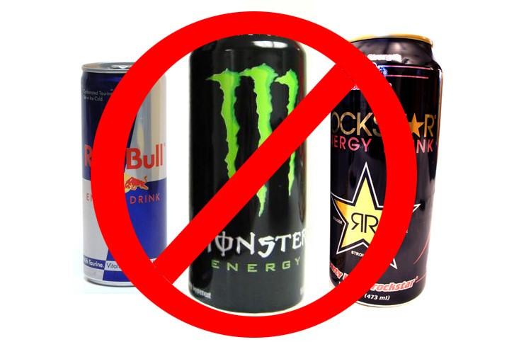 Вред энергетических напитков.